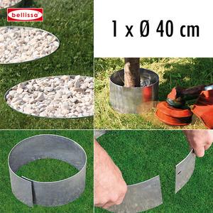 Rasenkante Kreis Ø 40 cm H 13 cm (verzinkt)