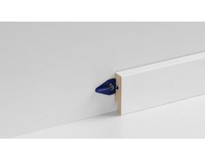 Leistenclip blau für SL6, inkl. Schrauben und Dübel, 24 Stück für 10 lfm