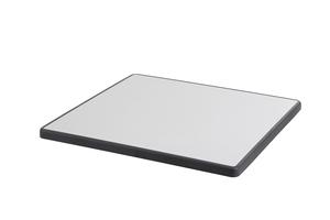 DiGalit Tischplatte 70x70cm  - (Metall gebürstet)