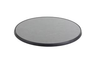 DiGalit Tischplatte 70cm rund - Pizarra