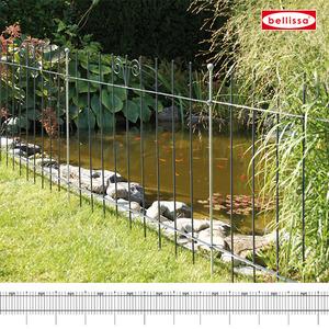 Teichschutzzaun geschm. anthrazit ( L118 x H90 cm)