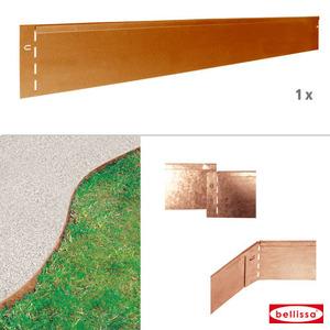 Rasenkante corten 118 x 13 cm