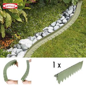 Rasenkante comfort Kunststoff 50 cm (mit Rand flexibel)
