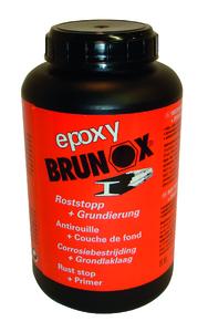 BRUNOX epoxy flüssig, Rostsanierer + (Grundierer Dose 100 ml)