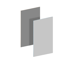BINTO Erweiterungskleidung HPL lichtgrau