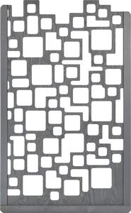 Zierelement Lira (basaltgrau lasiert)