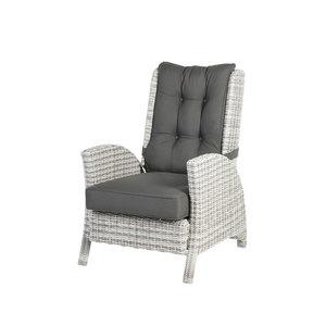 Granada Lounge Komfortsessel (Geflecht/Old White)