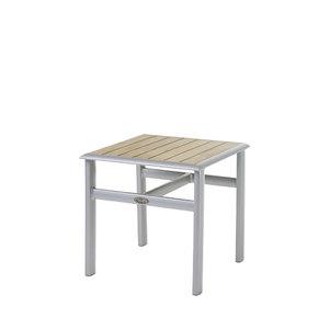 Sevilla Beistelltisch Aluminium/Teak