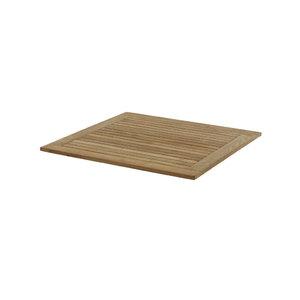 Monza Tischplatte 90 cm ? Teak