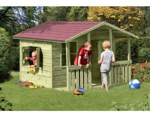 FELIX Kinderspielhaus teilweise (vormontiert B226xT240xH164cm, # 67006)