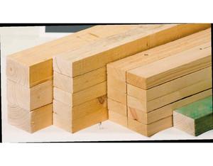 Latten getrocknet C24 Fichte (40x60x5500 mm)