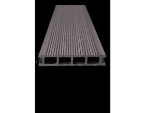 SombraDeck geriffelt ca 4000x162x28 mm (Hohlkammerdiele mit Barfuß- und)