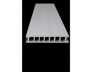 SombraDeck strukturiert ca 4000x162x28 (mm Hohlkammerdiele mit Fein- und)