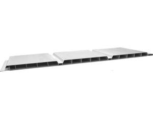 Bauprofilsystem NF 300 Nut- und (Federprofile weiß 6000x300x9mm)