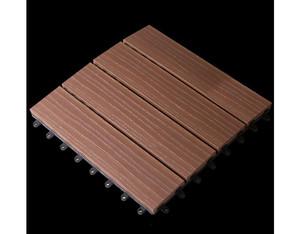 Solid Klickfliese co-extrudiert Zedern (30x30cm)