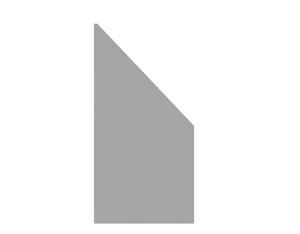 SYSTEM BOARD Anschluss Titangrau 90x180 auf 90cm