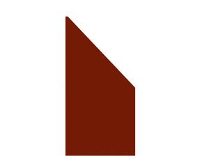 BOARD Anschluss Rot 90x180 auf 90cm