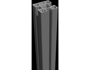 Lumino Steckpfosten 150cm Anthrazit 9x9