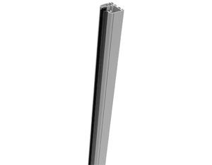 Ambiente Glas Klemmschiene 180cm (Silbergrau)