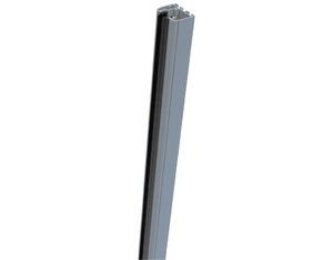 Ambiente Glas Klemmschiene 90cm (Silbergrau)