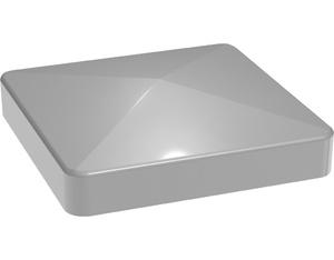 Lumino Kappe Silbergrau