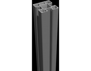 Lumino Steckpfosten 100cm Anthrazit 9x9