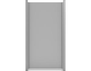 Premo HPL-Sichtschutzelement, Senkrecht (Uni Grau 90x180cm)