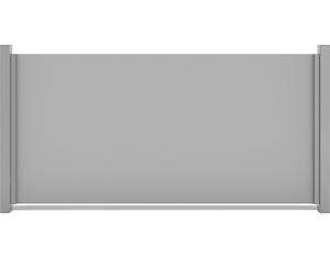 Premo HPL-Sichtschutzelement, waagerecht (Uni Grau 180x90cm)