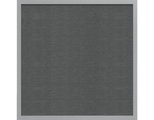 Viento Designzaun 180x180cm Ziegelgrau