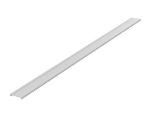 Abdeckprofil für Linear-Leuchte, 3600mm megalite, 10x62mm, mattweiß