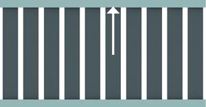 RAJA WPC ALU XL, Alu-Querriegel oben 4x6,5x179cm