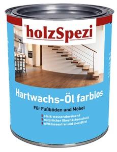 holzSpezi Hartwachs-Öl (seidenmatt, 2,5 Liter)