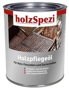 holzSpezi Holzpflege-Öl (hellbraun 2,5 Liter)