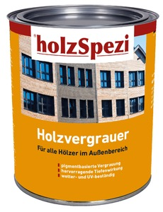 holzSpezi Holzvergrauer eigenfarbe, 0,75 Liter