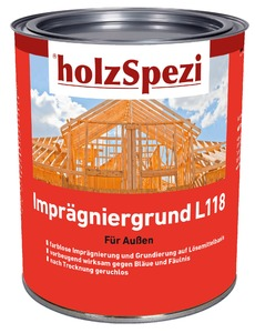 holzSpezi Imprägniergrund L 118 (farblos, 0,75 Liter)