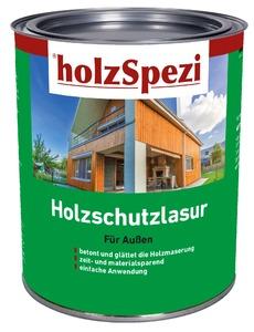 holzSpezi Holzschutzlasur (schiefergrau, 0,75 Liter)