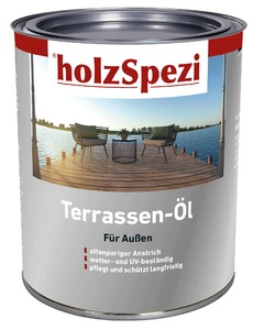 holzSpezi Terrassen-Öl (kebony, 0,75 Liter)